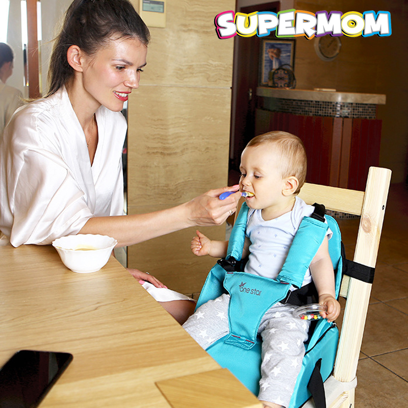 Baby Feeding Safety High Chair Booster Dinner Seat Dinning Chair Portable Newborn Waterproof Dinning Seat Pad Cushion Infant