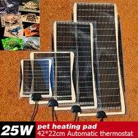 Vendita caldo 25 W 42*22 CM Armer Bed Mat Pad Anfibi Temperatura Regolabile Pet Rettile Riscaldamento Riscaldatore Cane Rilievo di calore Per La Vendita