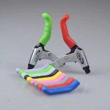 Велосипедные v-образные тормозные ручные рычаги, силиконовые кремнезёмные Colver MTB Горный Дорожный велосипед, складная гелевая ручка, тормозная Защита, Чехол