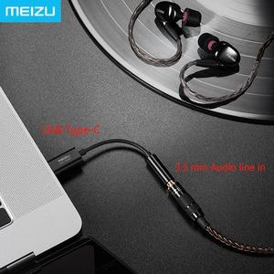 Image 3 - Meizu Hoofdtelefoon Versterker HiFi lossless DAC Type C naar 3.5mm audio adapter Cirrus Logic CS43131 Chip 600ou PCM 32bit/384 k DSD 128