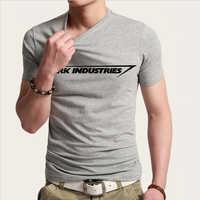 Stark Industries Tony Stark fer homme T-shirts décontracté nouveauté impression T-shirts à manches courtes col rond marque T-shirts top T-Shirts