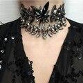Miwens 2016 Hot Sale Choker Necklace Fashion Jewelry ZA Maxi Colar Statement Necklace Vintage Boho Gems Necklaces & Pendants