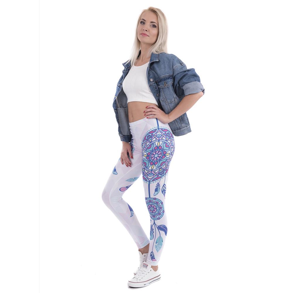 Mandala Sexy Slim Stretch Leggings