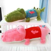 New Arrival Stuffed animals Big Size Simulation Crocodile Plush Toy Cushion Pillow Toys
