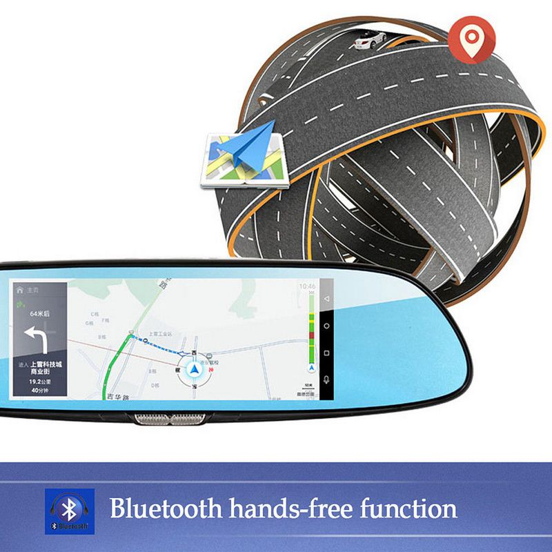 Image 3 - 7 Inch 1080P Full HD Car DVR Dash Camera Mirror Support For Android GPS Navigation Wifi Multiple Languages Auto Recorder Camera-in DVR/Dash Camera from Automobiles & Motorcycles