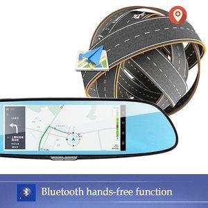 Image 3 - 7 zoll 1080P Volle HD Auto DVR Dash Kamera Spiegel Unterstützung Für Android GPS Navigation Wifi Mehrere Sprachen Auto recorder Kamera