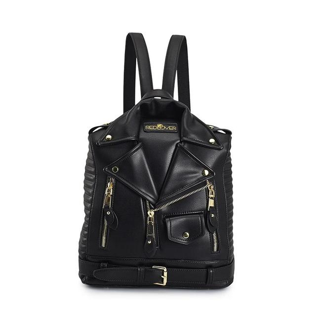 US $33 01 37% OFF|Famous Brand Rucksack Jacket Backpacks Fashion  Personalized Leather Backpack Women Designer High Quality Girls School  Bags-in