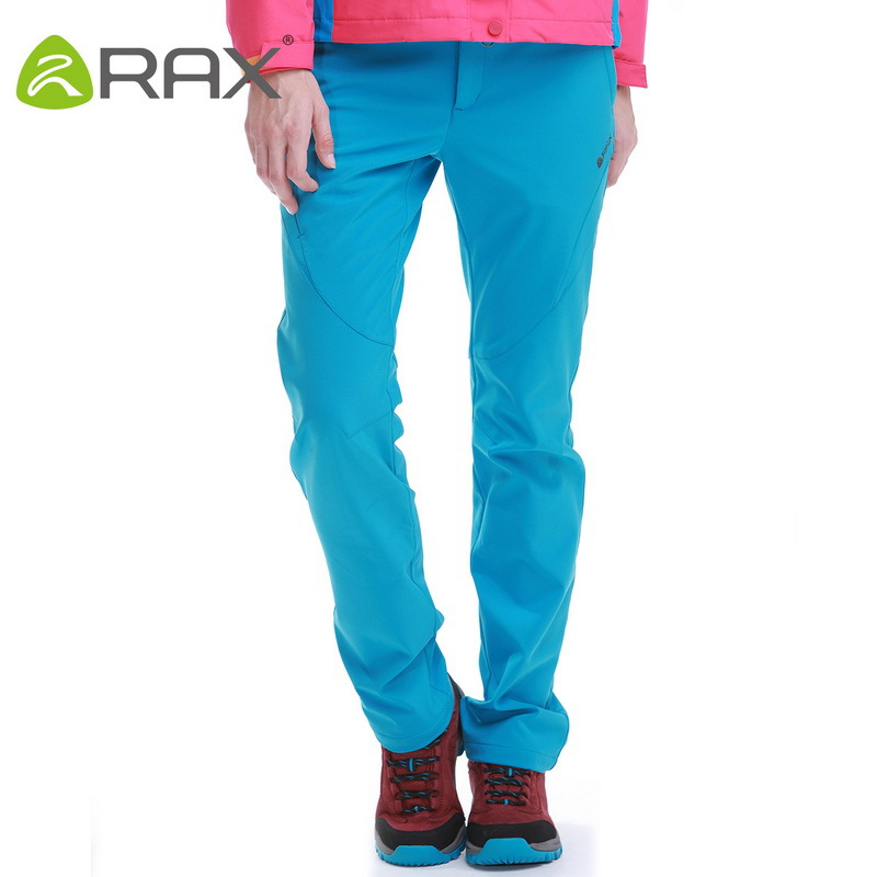 Rax Outdoor Waterproof Hiking Pants For Women Softshell Breathable Waterproof Woman Pants Hiking Trousers Windproof Sportwear