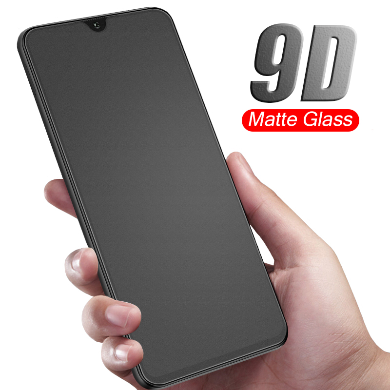 9D Matte tempered <font><b>glass</b></font> for <font><b>samsung</b></font> galaxy a20 a30 a40 a50 a70 j8 j4 j6 plus a6 a9 a7 2018 a750 a730 screen protector glas film image