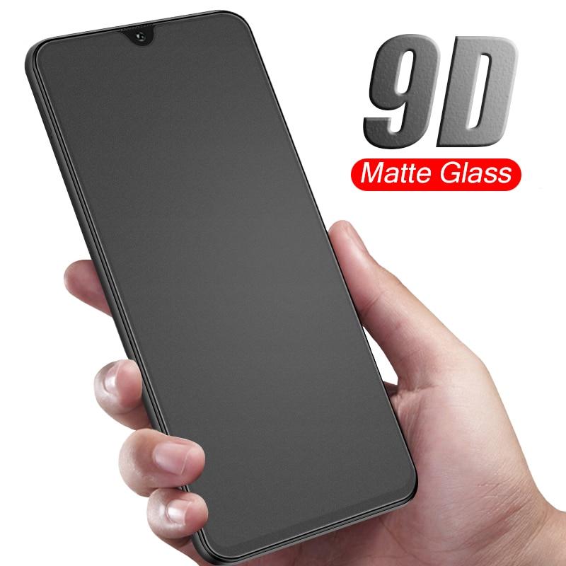 9D Matte Tempered Glass For Samsung Galaxy A20 A30 A40 A50 A70 A51 A71 J8 J4 J6 Plus A6 A7 2018 A750 Screen Protector Glas Film