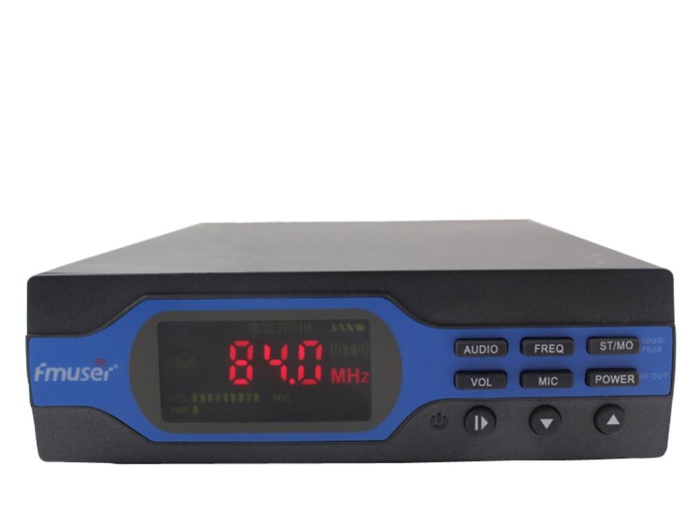 FU-X01CK 1W FM Transmetues + Furnizim me energji elektrike + Paketimi - Audio dhe video në shtëpi - Foto 2
