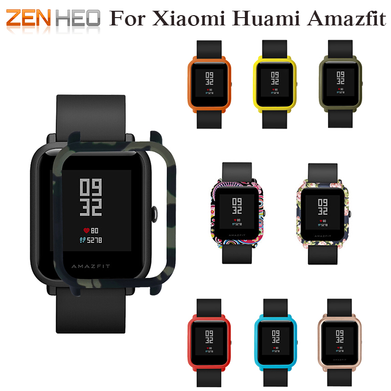 Slim Colorful Frame PC Case Cover for Xiaomi Amazfit Bip BIT PACE Lite Youth Watch Protect Shell for Xiaomi Huami Amazfit Watch цена 2017