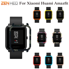 Slim Colorful Frame PC Case Cover for Xiaomi For Amazfit Bip BIT PACE Lite Youth Watch Protect Shell Huami
