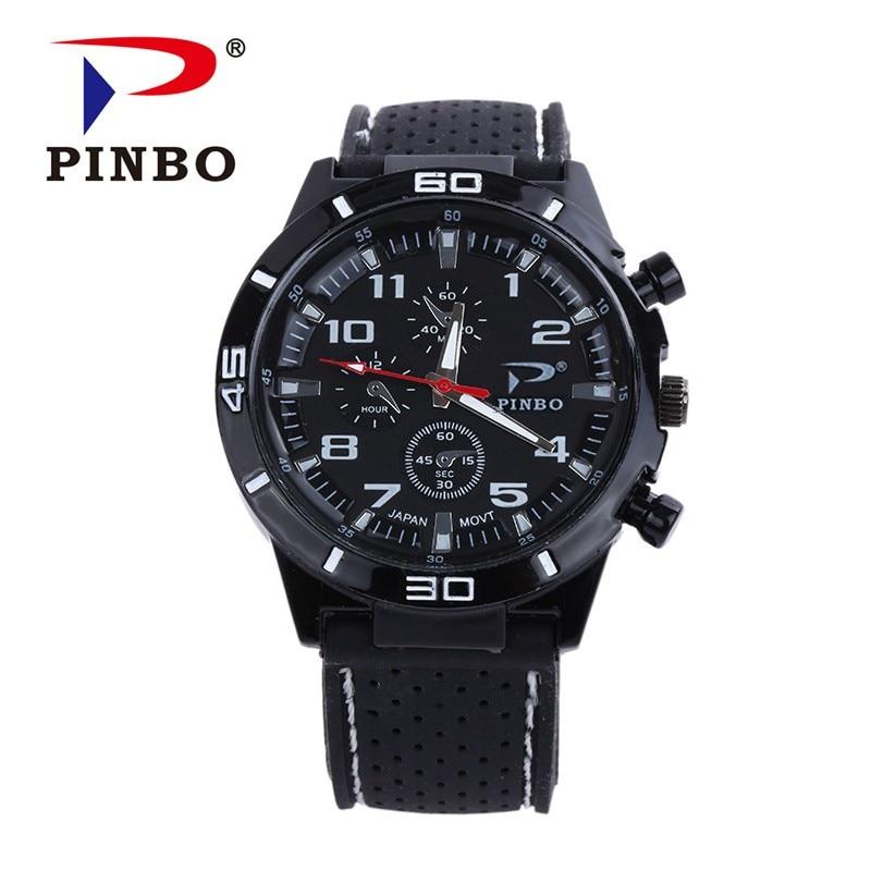 Reloj Hombre 2017 Nový luxusní značka PINBO Módní hodinky Muži - Pánské hodinky