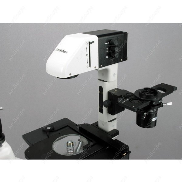 """EPI fluorescencinis """"AmScope"""" tiekiamas 40X-1200X fazės - Matavimo prietaisai - Nuotrauka 5"""