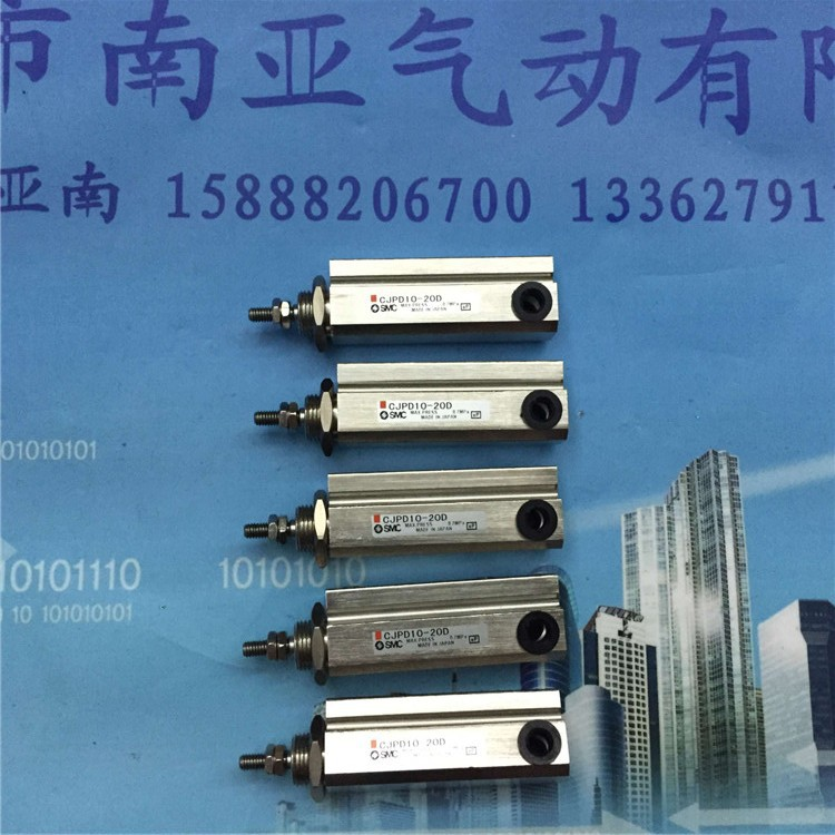 CJPD10-20D SMC Needle type cylinder Double-acting air cylinder pneumatic component air tools cxsm32 75 smc double pole double cylinder air cylinder pneumatic component air tools cxsm series cxs series