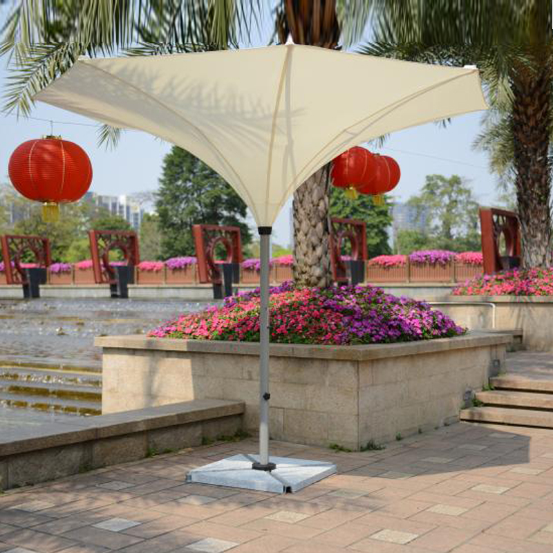 3.5 meter deluxe flower outdoor umbrella garden parasol sunshade for patio furniture covers ( no stone base ) 2 7 meter steel iron duplex outdoor beach sun umbrella patio parasol sunshade garden furniture cover no base