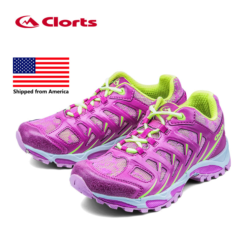 Shipped From USA Clorts Women Running Shoes Light Outdoor Running Sneakers Colorful Sports Shoes 3F021