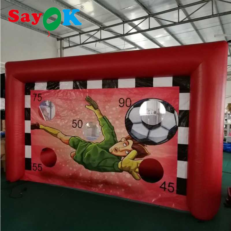 Sayok Commercial Portable Inflatable Football Dart, Inflatable Soccer Goal TargetSayok Commercial Portable Inflatable Football Dart, Inflatable Soccer Goal Target