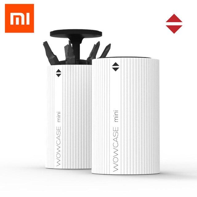 Xiaomi Mijia wowstick wowcase สกรูไฟฟ้าเจาะหัวกล่องสำหรับ Mijia และ 1fs Pro,1 P + ชุดสกรู
