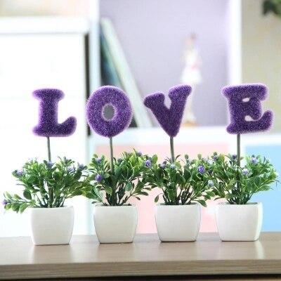 Mini usine de simulation décoration fleurs, décorations pour la ...