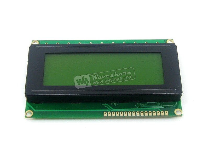 Parts 204 20X4 20*4 2004 Character LCD Module LCM Display TN/STN Yellow Backlight Black Character 5V Logic Circuit HD44780 Compa