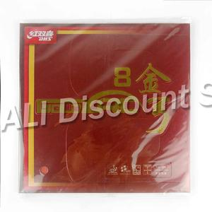 Image 2 - Original DHS GoldArc 8 Table Tennis Rubber rubber Pimples In Ping Pong Germany Rubber with Sponge ITTF Approved