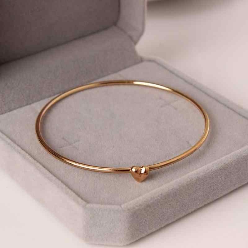 Joyería de moda coreana Peach Wish Bracelet ahorro de energía con Sweet Bracelet para mujer pulsera de oro al por mayor
