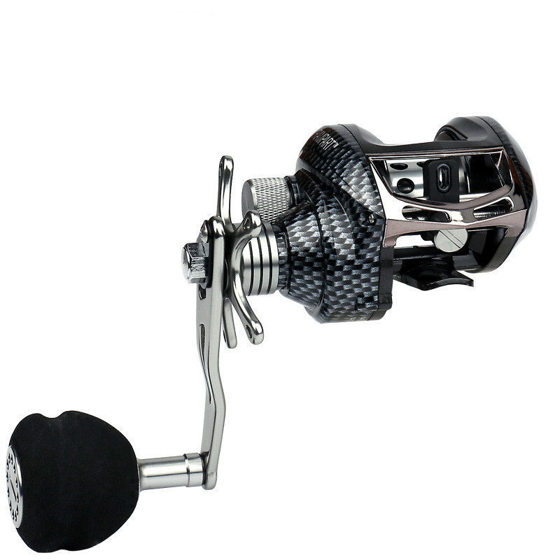 Powerful Metal A Rocker Right Or Left Baitcasting Reel 13BB 6:3:1 High Speed Bait Casting Fishing Reel Lure Fishing Reel Sea stealth 3bb 1rb plastic body bait casting carp fishing reel high speed baitcasting pesca 6 2 1 lure reel