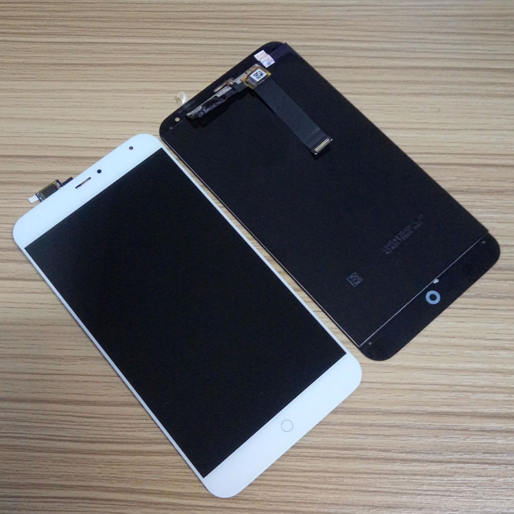 Tested For MEIZU MX4 LCD Display Touch Screen black white 5 36 inch display Replacement Digitizer