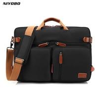 NIYOBO Men Business Handbag Back Bag Waterproof Oxford Shoulder Bag High Quality Laptop Bag Travel Bags