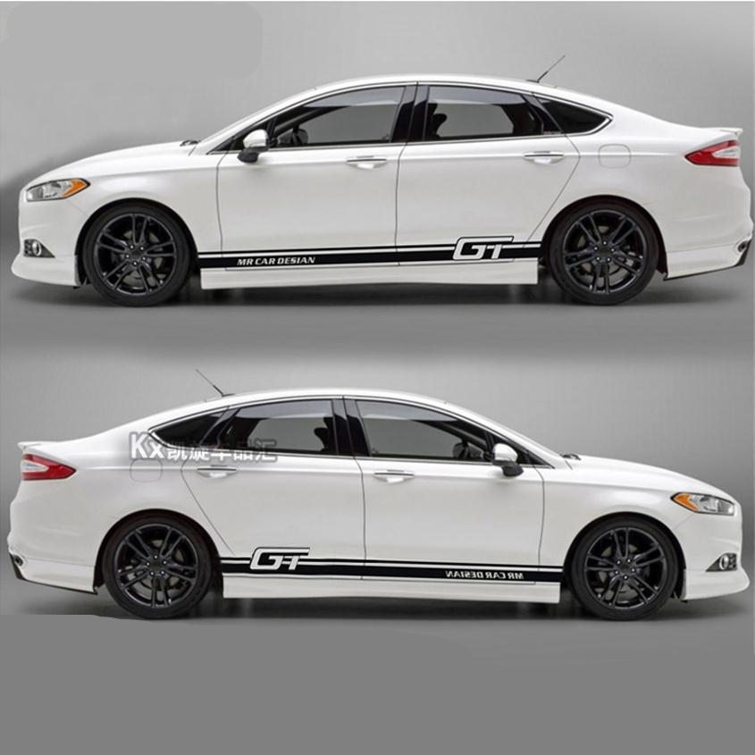 Ford Service Decals : Kk material whole full body car sticker for ford mondeo