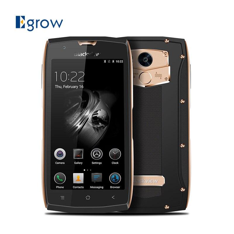 Цена за Оригинал blackview bv7000 pro mtk6750t окта основные мобильный телефон 5.0 ''android 6.0 сотовые телефоны 4 г ram 64 г rom водонепроницаемый смартфон
