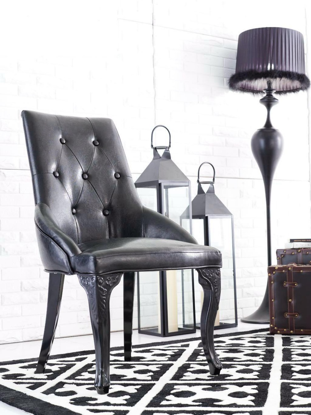 metal furniture european style neo classical hotel living 11790 | metal furniture european style neo classical hotel living room metal dining chair high grade leather restaurant