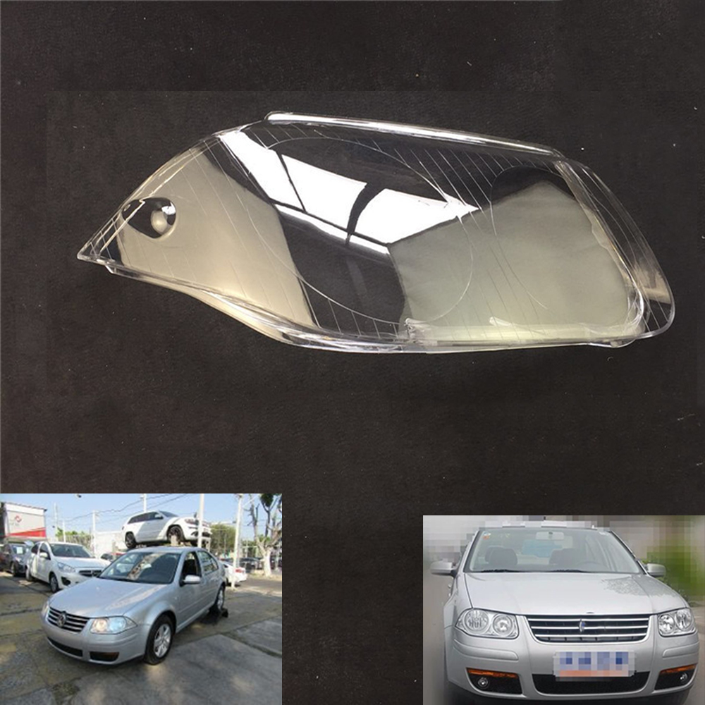 For Volkswagen VW Bora Jetta Clasic 2006 2007 2008 Car Headlight Headlamp Clear Lens Auto Shell