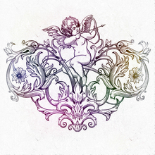 Bowman angel DIY scrap paper decoration crafts embossed cutting dies card scrapbook 2019