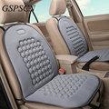 1 Pcs Spherical Massagem Almofadas de Assento de Carro Universal Preto Tampa de Assento Do Estilo Do Carro Acessórios Interiores Do Carro Tampas de Assento de Fácil Limpeza