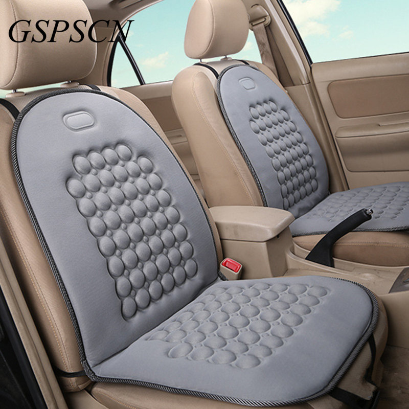 Details about Massage Car Seat Cover Natural Therapy Chair Back Chair Back  Comfort