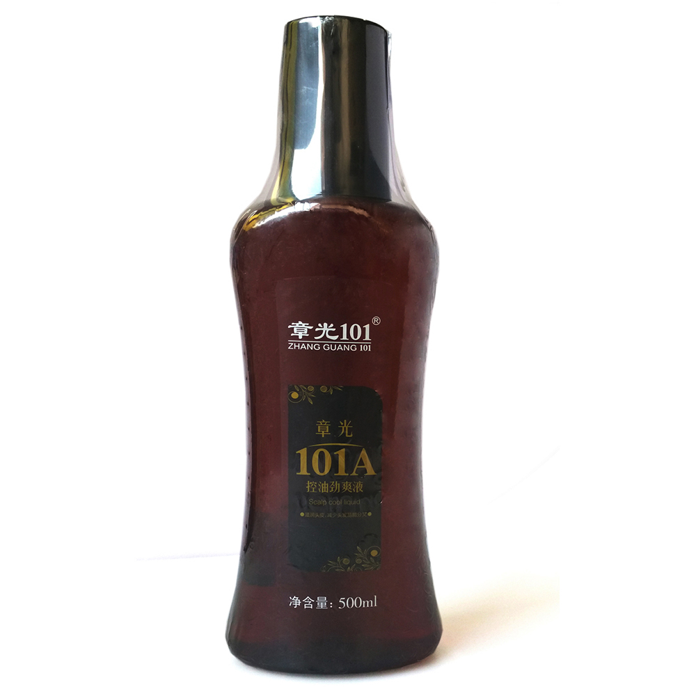 Zhangguang 101A Scalp cool fluid strong Hair oil control and regrowth tonic 500ml powerful 101G enhanced edition zhangguang 101g hair tonic hair treatment essence regrowth chinese medicine therapy anti hair loss powerful hair growth product