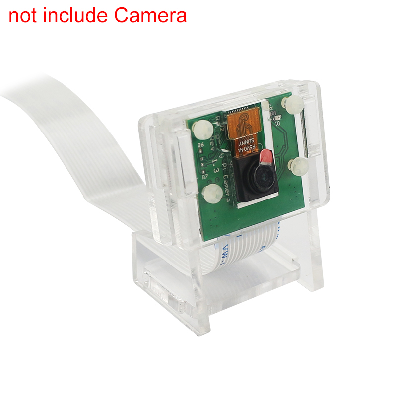 Raspberry Pi 3 Model B Plus Camera Case Support Transparent Acrylic Bracket For OV5647 Raspberry Pi Official V2 Camera