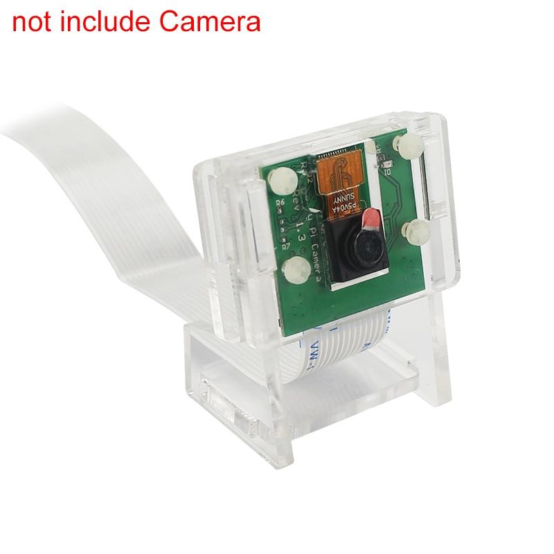 Raspberry Pi 3 model b плюс Камера случае Поддержка прозрачный акриловый кронштейн для OV5647 Raspberry Pi официальный V2 Камера