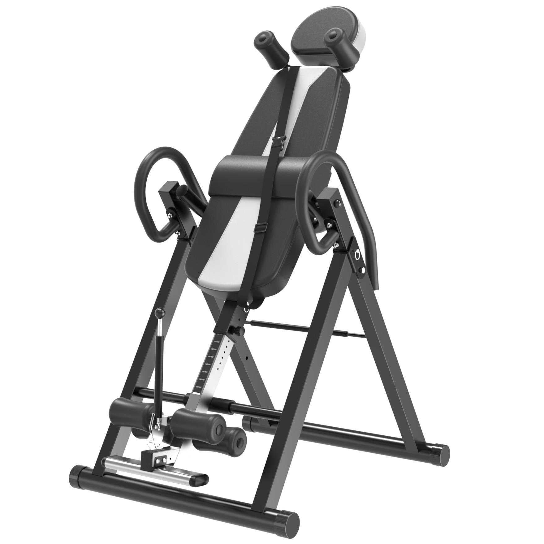 Haute Qualité Plus Sûr Intégré Équipement de Conditionnement Physique Table D'inversion Retour Civière Machine pour Soulager La Douleur Thérapie Hauteur Réglable