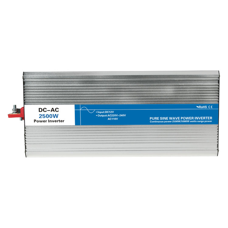 2500w pure sine wave inverter DC 12V/24V/48V to AC 110V/220V tronic power inverter circuits off grid tie cheap 12 24 48 V
