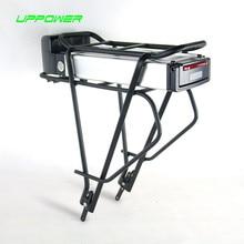 Ningún Impuesto EE. UU. UE Bicicleta Eléctrica 36 V 20Ah Batería Parrilla Trasera E-bici 36 V 20.3Ah NCR Celular Batería de litio con Cargador + Estante