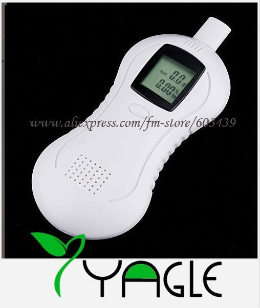 Digital LCD Breath Alcohol Tester Analyzer Breathalyzer, Welcome Wholesale