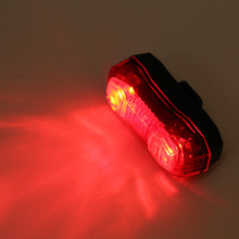 LEADBIKE Super Lightweight Durable Mountain Bike Bicycle Safety Warning Light 5 LED Night Cycling Warning Light Top Quality