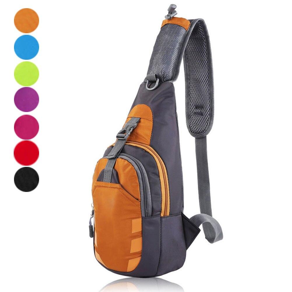 New Nylon Chest Bags Fashion Travel Crossbody Bag Man Women Messenger Bag Unisex WML99