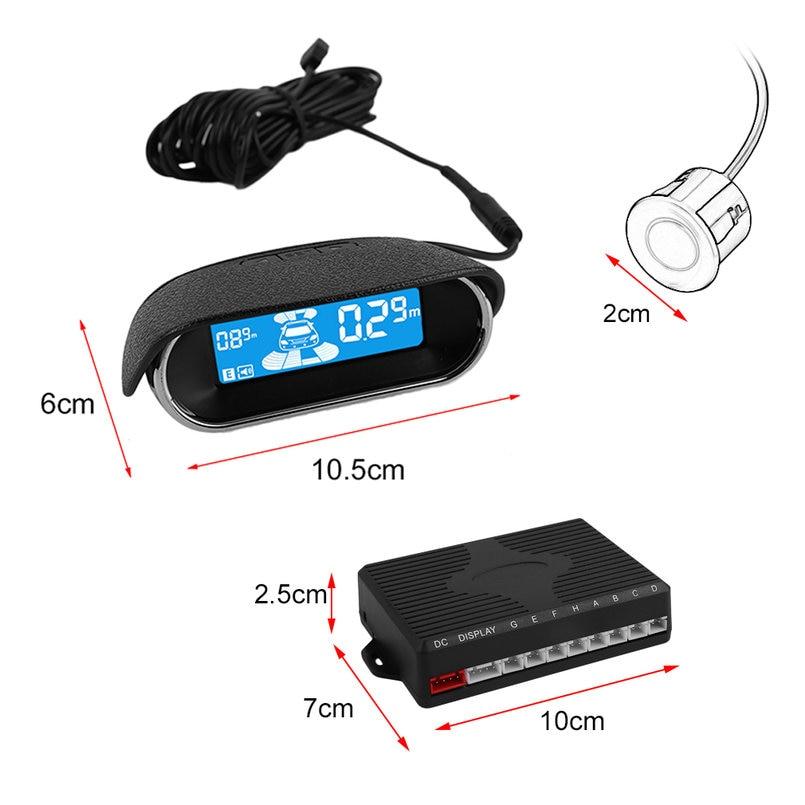 Lo nuevo ABS Sensores de Aparcamiento Electrónica de Ayuda Al Aparcamiento de Co