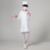 2016 hot Engraçado Traje de Halloween Para As Crianças do jardim de Infância Meninas Médicos Casaco Branco Enfermeira Role Play Roupas Desempenho Profissional