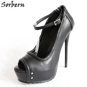 ac5da11493 Sorbern High Heels Shoes Ladies Womens Platform